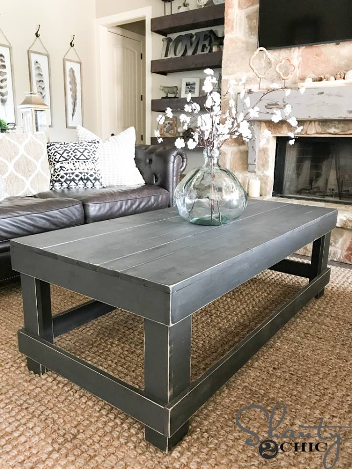 Willis Wood Rustic Coffee Table